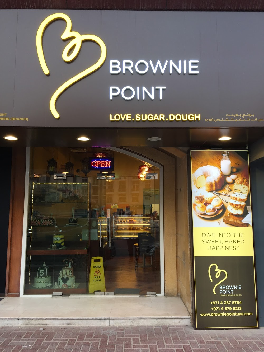 Brownie Point Cakes and Confectioners